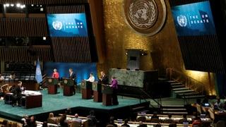 Bleibt die UNO-Spitze für Frauen unerreichbar?