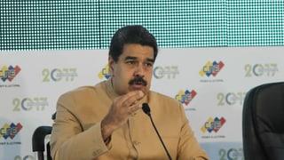 USA frieren Präsident Maduros Vermögen ein – er lacht darüber