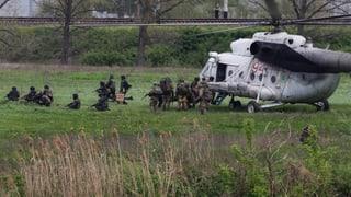 Tote und Verletzte beim Kampf um Slawjansk