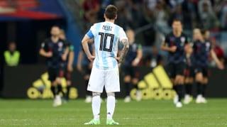 Argentinien geht gegen Kroatien unter