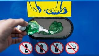 Nicht alles PET darf ins PET-Recycling