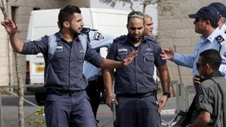 Israels Polizei darf arabische Viertel abriegeln