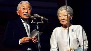 Kaiser Akihito hält letzte Neujahrsansprache in Tokio