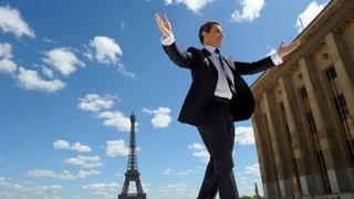 Kein Schönwetterpolitiker: Sarkozy will Frankreich voranbringen
