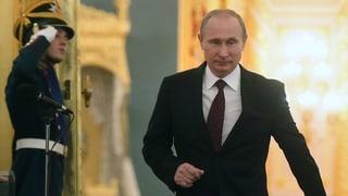Putin hofft auf friedliche Lösung in der Ukraine
