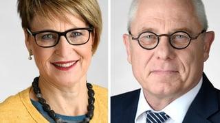 Renzo Andreani und Ingeborg Schmid müssen zittern