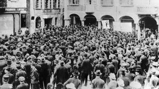 Als die Schweiz an einem Bürgerkrieg vorbeischrammte