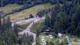 Campingplatz Arolla (VS) aus Sicherheitsgründen evakuiert