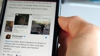 Aleppo: Falsche Bilder schaden echten Opfern
