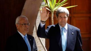 Kerry: «Friedensgespräche sind in Reichweite»