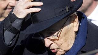 Italiens Staatspräsident Napolitano zurückgetreten