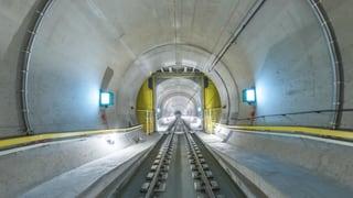 Nur für Bahn-Fans: Fast eine Stunde Gotthard-Basistunnel in 360°