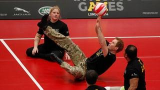 Volleyball im Sitzen: Harry gründet Spiele für Kriegsverwundete