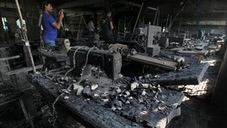 Bangladesch: Brand in Textilfabrik vorsätzlich gelegt