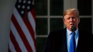 Donald Trump bestätigt Nationalen Notstand