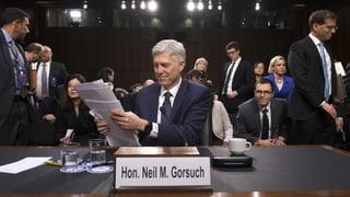 Demokraten wollen Neil Gorsuch verhindern