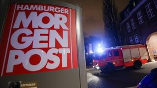Brandanschlag auf «Hamburger Morgenpost»