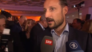 Prinz Haakon, Veronica Ferres & Co.: Promi-Schaulaufen in Davos