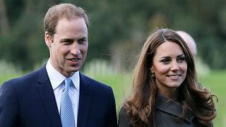 Prinz William und Herzogin Catherine werden Eltern