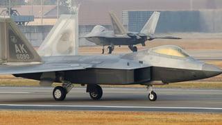 Grösste Luftwaffenübung auf koreanischer Halbinsel