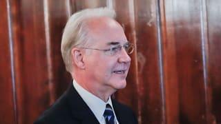 US-Gesundheitsminister Tom Price tritt zurück