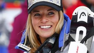 Lara Gut gudogna er cursa rapida - Fabienne Suter segunda