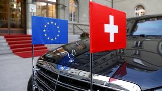 Die EU knüpft die Börsenäquivalenz an klare Bedingungen. Oberste Priorität hat dabei der Abschluss des Rahmenabkommens.