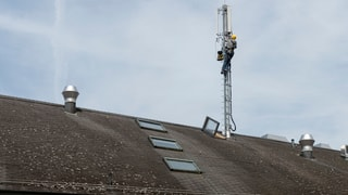 In den Schweizer Mobilfunknetzen stauen sich die Daten