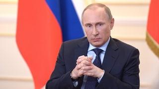Putin anerkennt Krim als «unabhängigen, souveränen Staat»