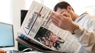Schweizer lesen fleissig Zeitungen