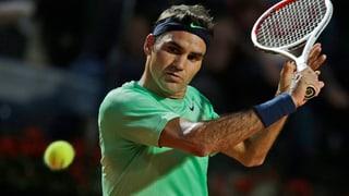 Federer erstmals seit 2006 im Rom-Final