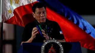 Duterte: «Ich habe selbst getötet»