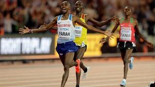 Sechstes WM-Gold: Mo Farah bringt das Olympiastadion zum Toben