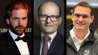 «Steile Karrieren – umstrittener Ruf»: Patrick Liotard-Vogt, Remo Stoffel und Pascal Jaussi