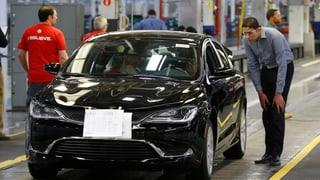 Fiat Chrysler ruft 1,1 Millionen Autos zurück