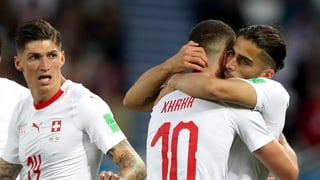 2:1 gegen Serbien – Schweiz vor Achtelfinal-Quali (Artikel enthält Video)