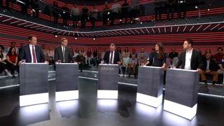«Arena»: Wie weit darf der Schweizer Waffenexport gehen?