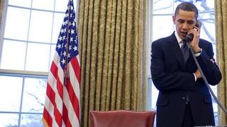 Obama telefoniert mit Putin: «Ziehen Sie Ihre Truppen zurück»