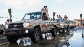 Ausnahmezustand nach Kämpfen in Libyen