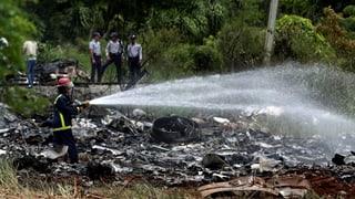 Flugzeugabsturz in Havanna
