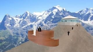 Neue Plattform auf dem Schilthorn geplant