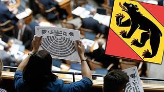 Im Kanton Bern fasst eine Partei den Schwarzen Peter