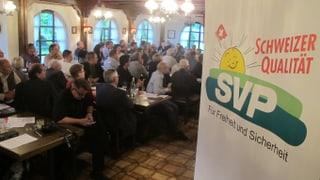 Die Solothurner SVP steht im Schilf und entschuldigt sich