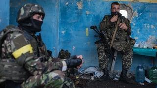 Ukrainische Truppen an Grenze zu Krim kampfbereit