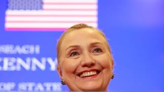 Hillary Clinton arbeitet bald wieder