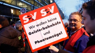 Plans da spargnar da la SBB laschan ir sin las barricadas