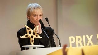 Ursula Schaeppi erhält Ehren Prix Walo