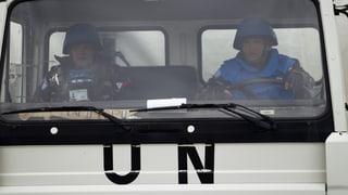 In Syrien verschleppte UNO-Soldaten sind frei