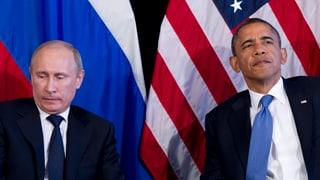 Obama zeigt Putin die kalte Schulter