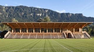Stadion Crap Gries a Schluein è nominà per premi d'architectura